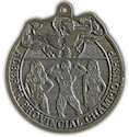 Example of Fundraising Participant medal