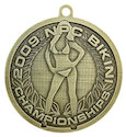 Example of Sports Participant medal