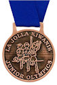 Example of Corporate Participant medal