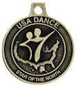 Drawing of Sport Participant medal