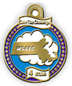Drawing of Sports Participant medal