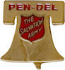 Sample Recognition Badge Pin